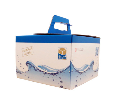 packaging sostenibile H2o box
